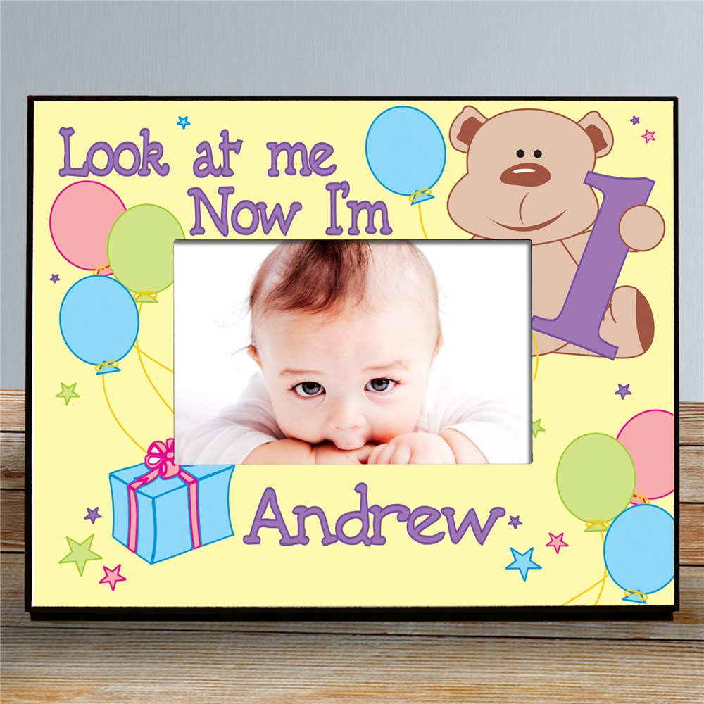 Personalized Birthday Frame | Personalized Picture Frames