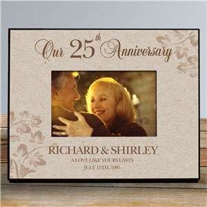 Customized Picture Frames | Special Made Anniversary Frame