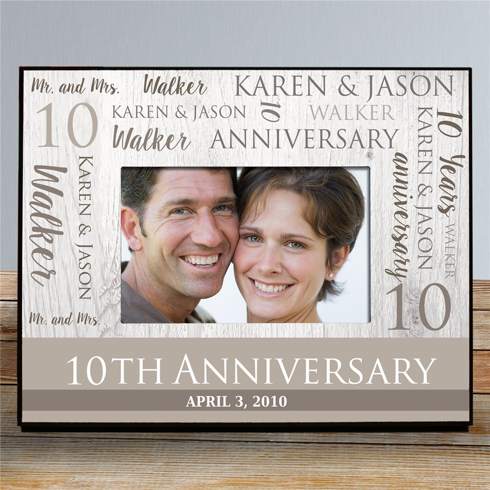 Customized Picture Frames | Special Anniversary Gifts