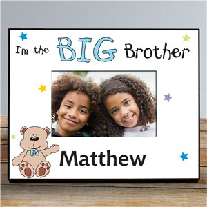 Custom I'm The Brother Teddy Bear Personalized Frame | Big Brother Gifts