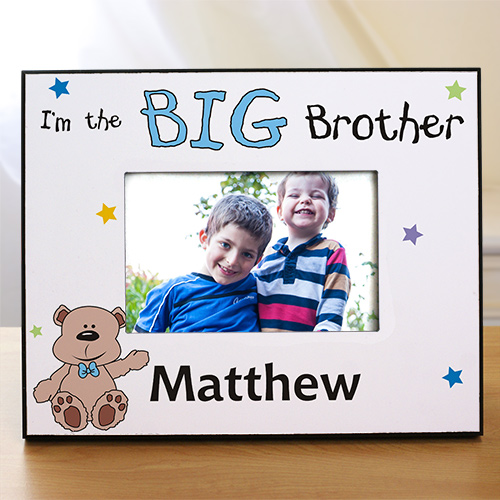 Custom Printed Brother Picture Frame | Big Brother Gifts