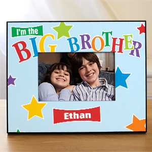 Personalized Big Brother Picture Frame