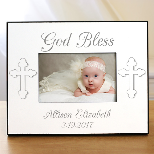Personalized Baptism Picture Frame | Personalized Picture Frames