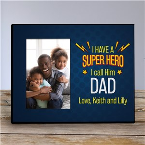 Personalized Superhero Frame for Dad