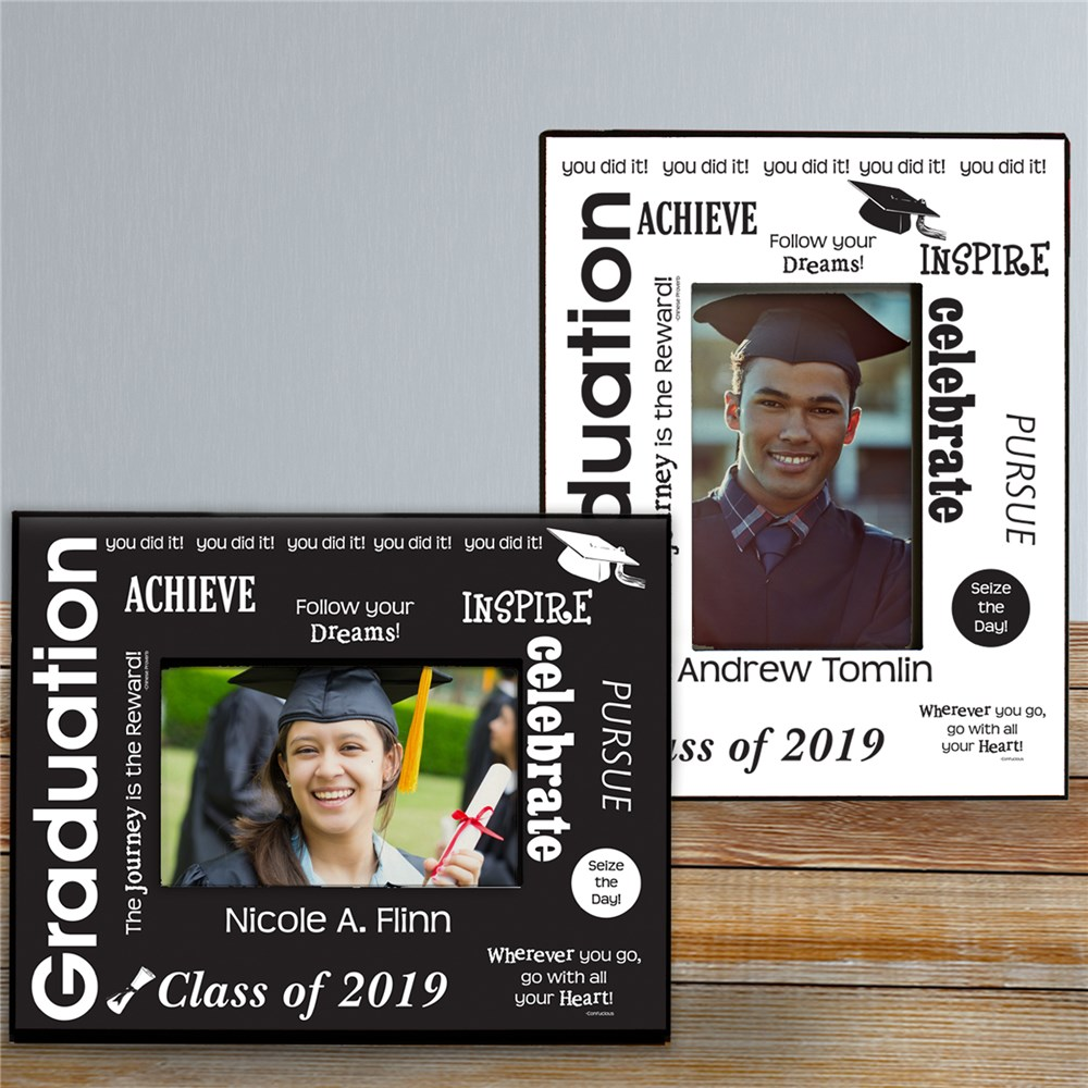 Personalized Follow Your Dreams Graduation Frame | Personalized Graduation Picture Frames