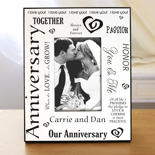 Our Anniversary Printed Frame