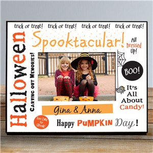 Spooktacular Halloween Printed Frame | Personalized Halloween Decor