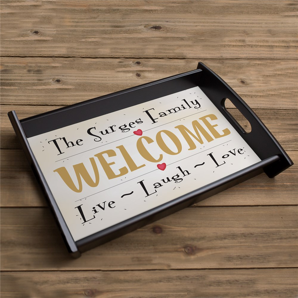 Live, Love, Laugh Serving Tray 42053ST