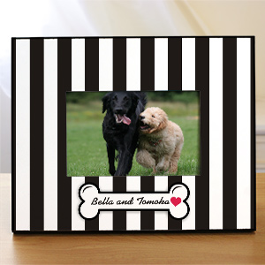 Personalized Dog Picture Frame | Personalized Picture Frames