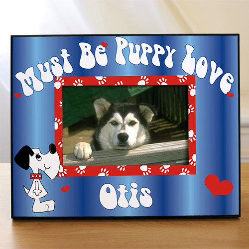 Personalized Puppy Picture Frame | Personalized Picture Frames