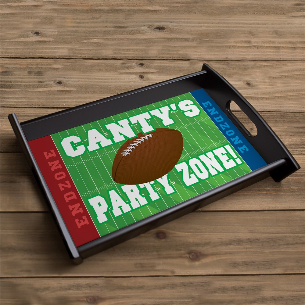 Personalized Football Party Serving Tray 42578ST