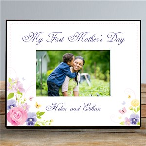 My First Mothers Day Printed Frame | Happy Mother's Day Photo Frame