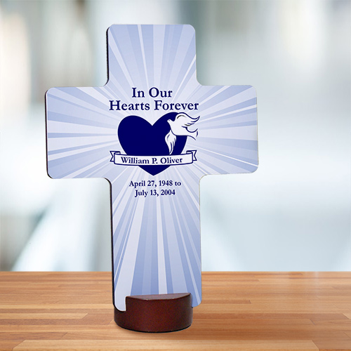 Unique Memorial Wall Cross | Memorial Gifts