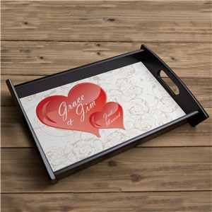 Custom Printed Love Serving Tray