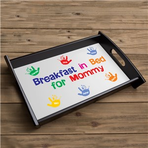 Custom Printed Breakfast Serving Tray | Personalized Kitchen Gifts
