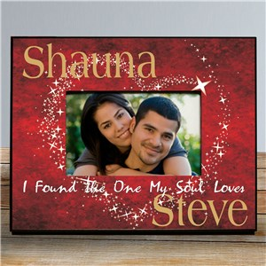 Personalized One My Soul Loves Printed Frame | Personalized Picture Frames For Couples