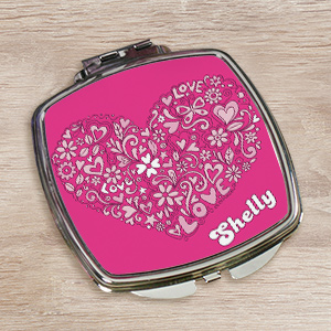 Love Personalized Compact Mirror 432209