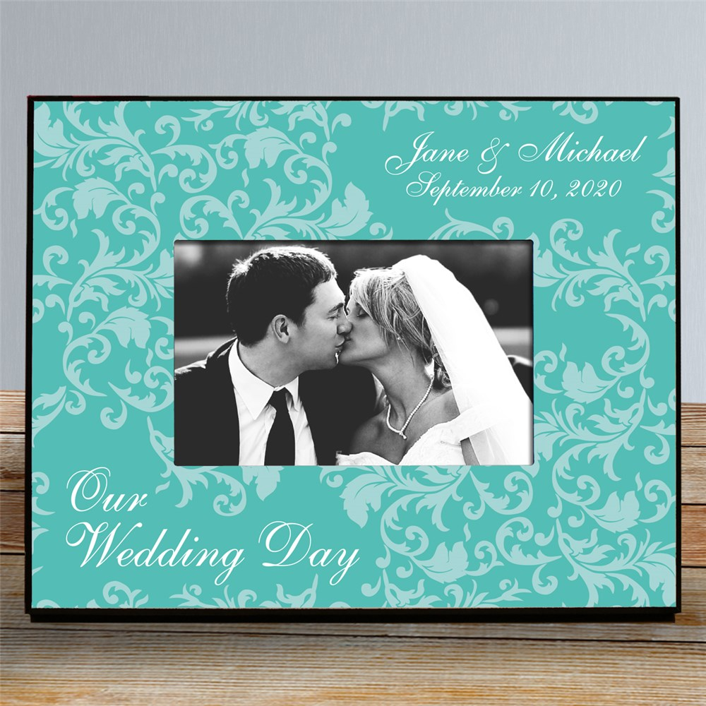 Personalized Wedding Day Picture Frame | Personalized Picture Frames