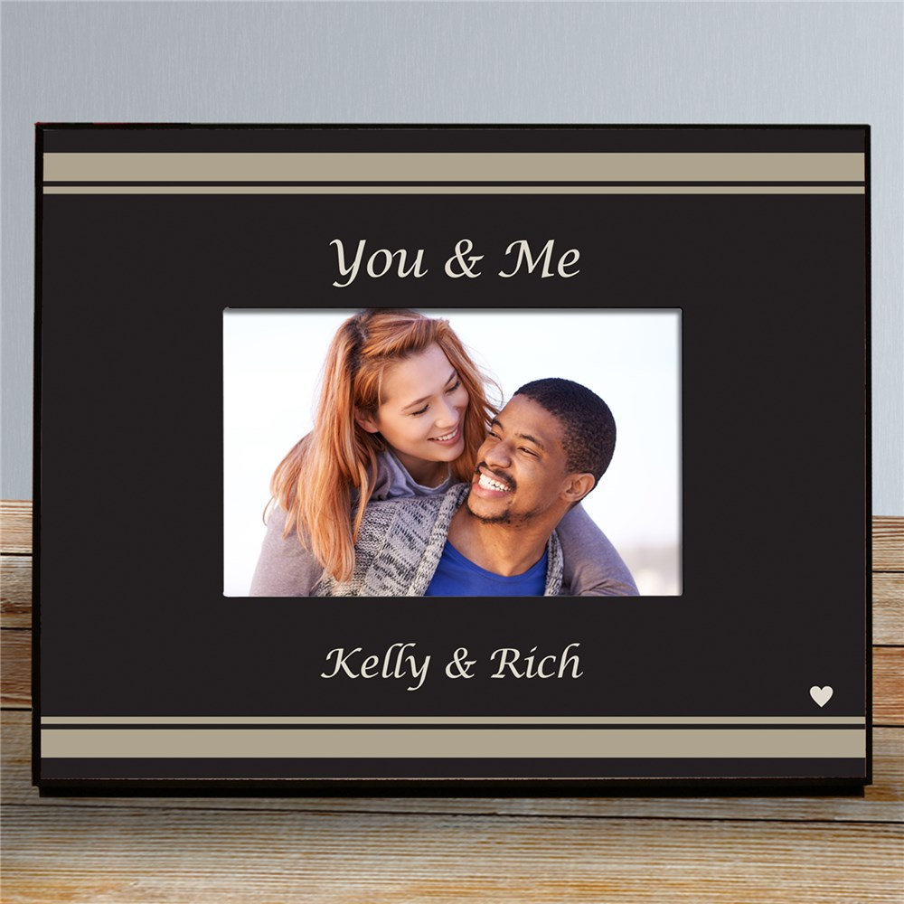 You & Me Personalized Picture Frame | Personalized Picture Frames