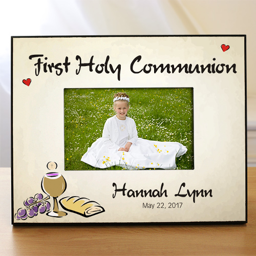 Personalized First Holy Communion Printed Picture Frame 441680