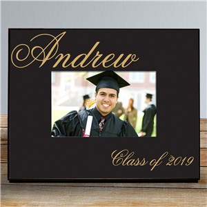 Personalized Class Of Graduation Printed Frame | Personalized Graduation Picture Frames