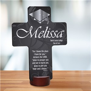 Personalized Graduation Blessing Cross Keepsake | Graduation Gifts