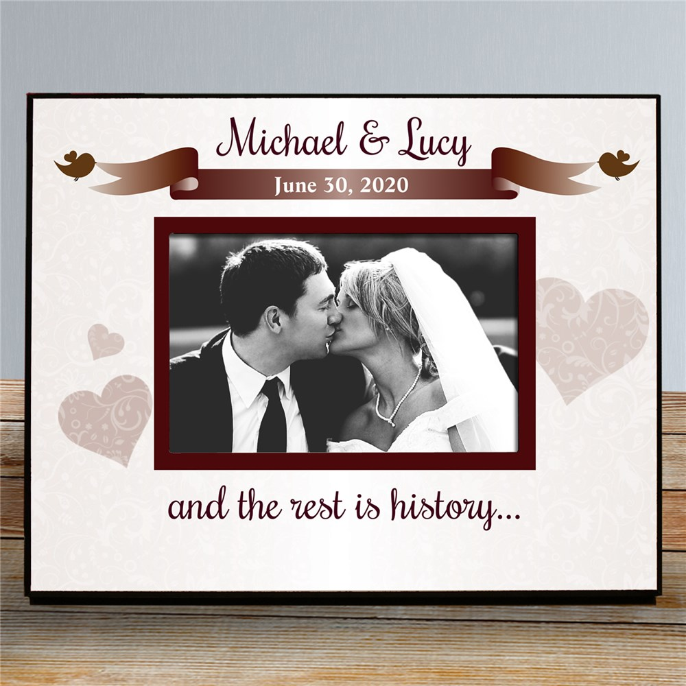 Personalized Wedding Printed Frame | Personalized Picture Frames