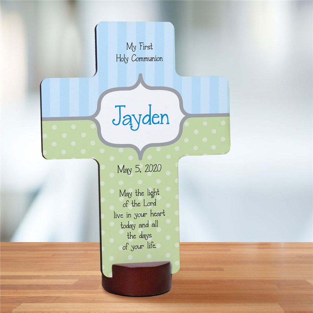 Personalized Communion Cross | Personalized Communion Gifts