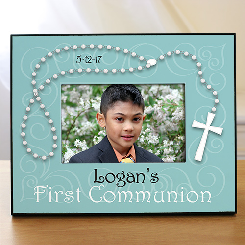 Personalized First Communion Printed Frame | Personalized Picture Frames