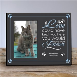 Personalized Pet Memorial Printed Frame | Personalized Picture Frames