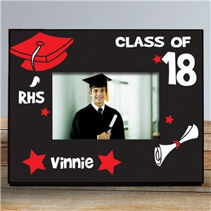 Personalized Class of Graduation Printed Frame | Graduation Frames