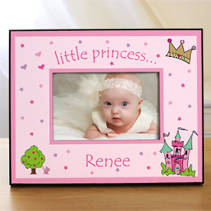 Custom Printed Little Princess Picture Frame