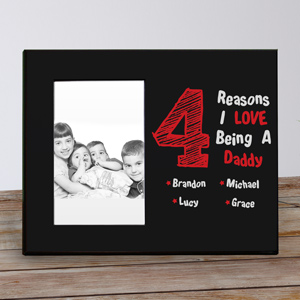Personalized I Love My Children Printed Frame