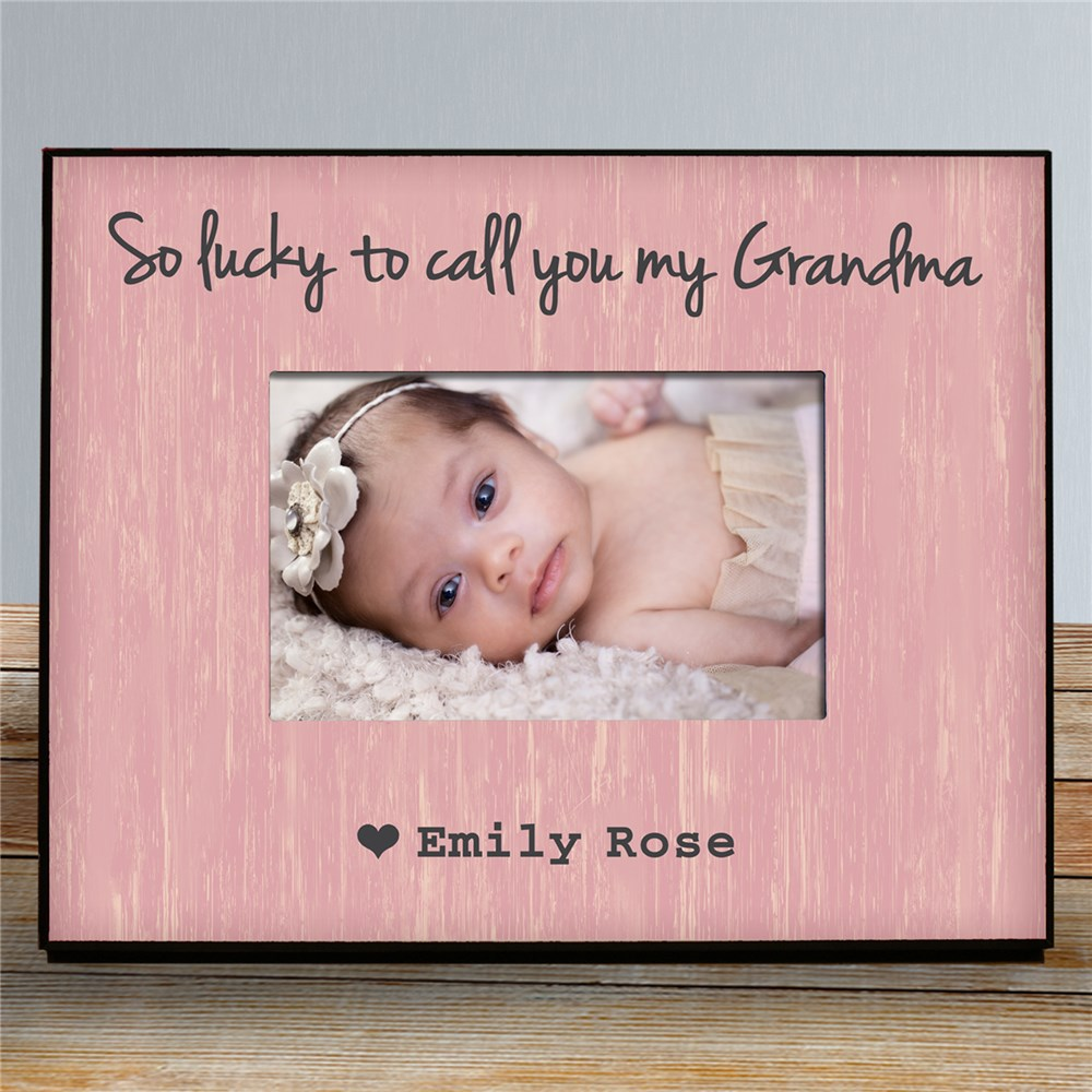 Personalized Lucky Picture Frame | Personalized Gifts for Moms