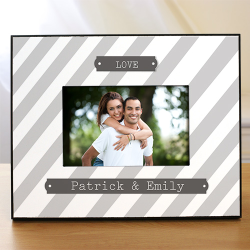 Personalized Our Love Couples Frame | Personalized Picture Frames For Couples
