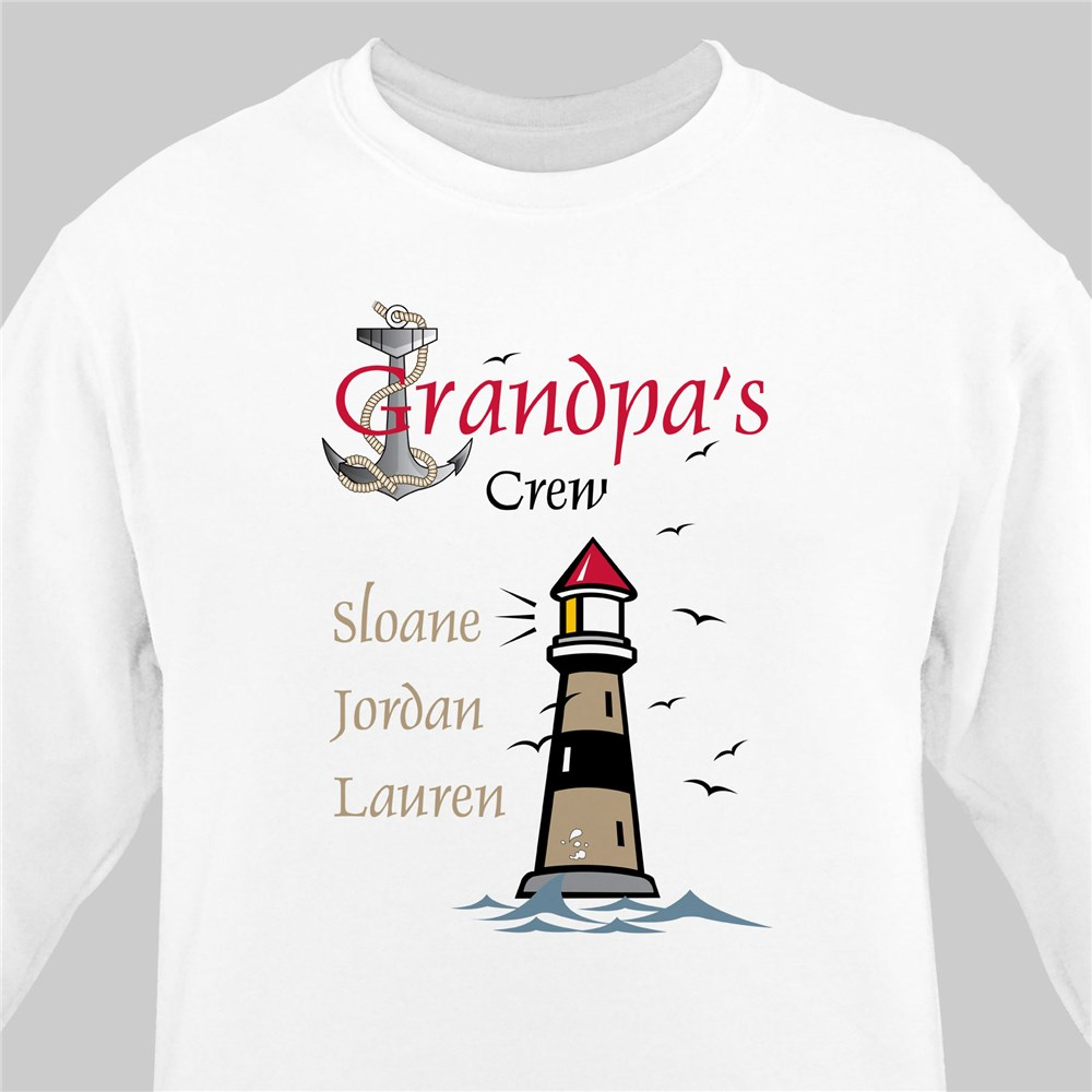 Crew Personalized Sweatshirt | Personalized Sweatshirts