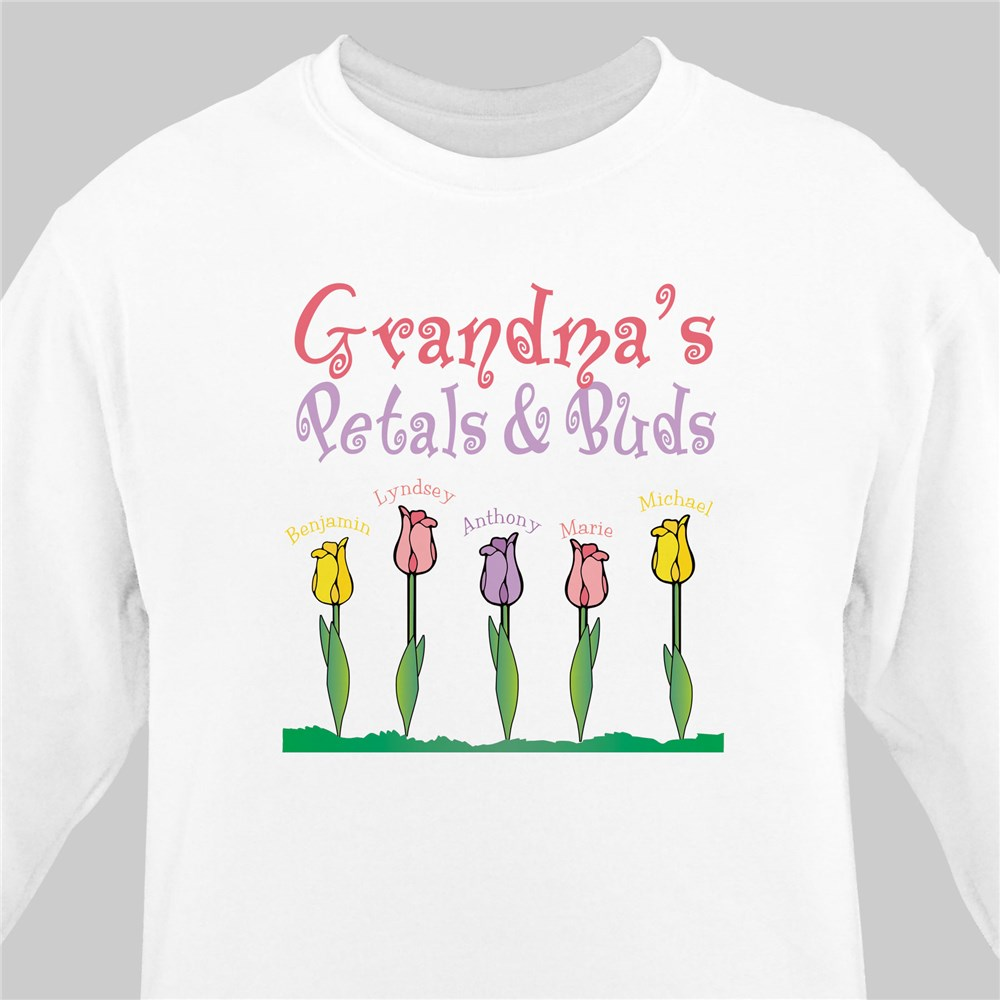 Petals and Buds Sweatshirt | Personalized Sweatshirts