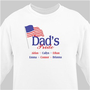 USA American Pride Personalized Sweatshirt | Personalized Sweatshirts