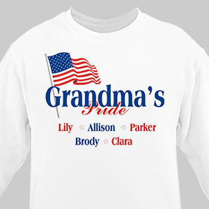 USA American Pride Personalized Sweatshirt