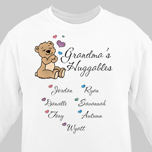 Huggable Personalized Sweatshirt
