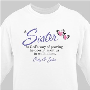 God's Way Personalized Sweatshirt | Personalized Sweatshirts