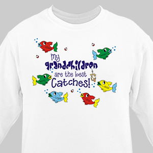 The Best Catches Sweatshirt | Personalized Sweatshirts