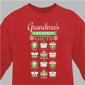 Personalized Holiday Sweatshirts | Holiday Sweatshirts For Women