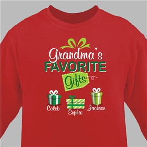 Personalized Holiday Sweatshirts | Favorite Gifts Christmas Sweatshirt