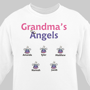 Little Angels Personalized Sweatshirt | Personalized Sweatshirts