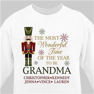 Personalized Most Wonderful Time Sweatshirt 517166X