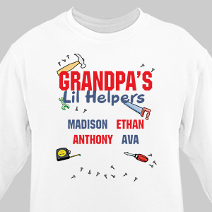 Lil' Helpers Sweatshirt | Personalized Sweatshirts
