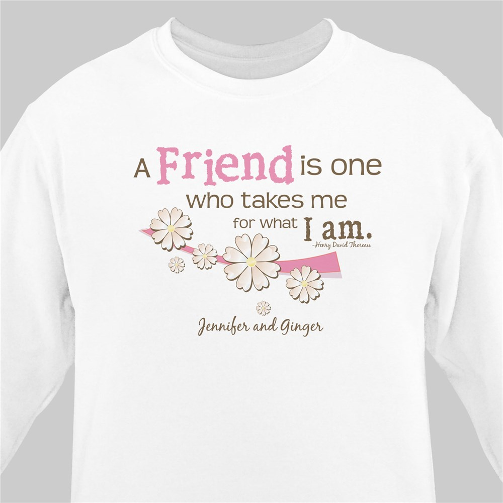 Friendship Personalized Sweatshirt | Personalized Sweatshirts