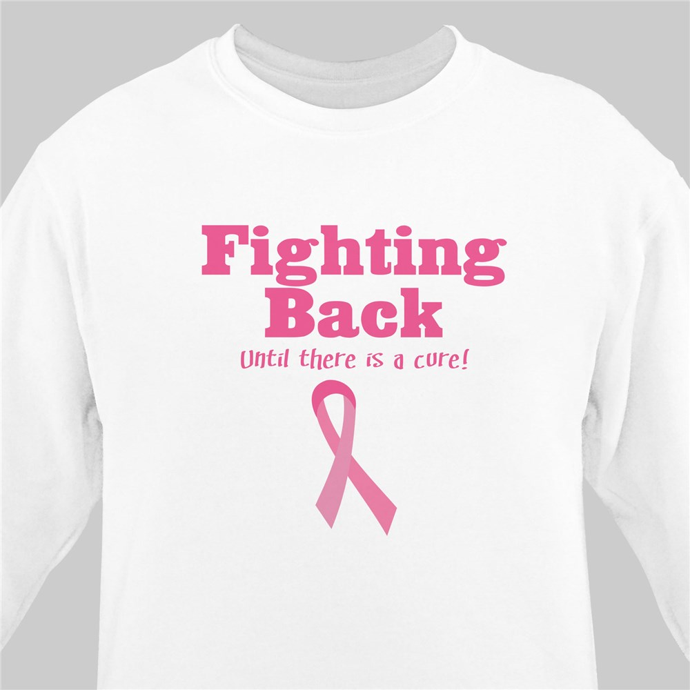 Fighting Back - Breast Cancer Awareness Sweatshirt