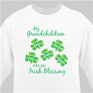 Customizable Sweatshirts | Irish Blessing Shirt